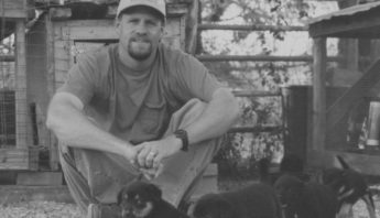 JR Helton and stray pups 1995 - podcast
